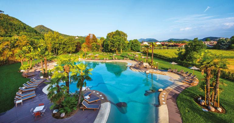 Relilax hotel terme montegrotto piscine bio design for Bio piscina